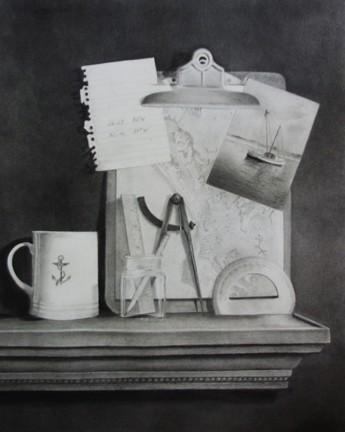 Tuttle, Plotting the Course, HIrdie Girdie Gallery