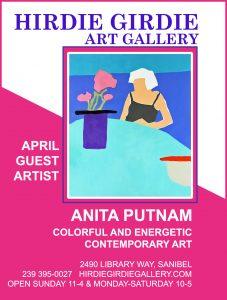 Guest Artist April 2021, Artist Anita Putnam